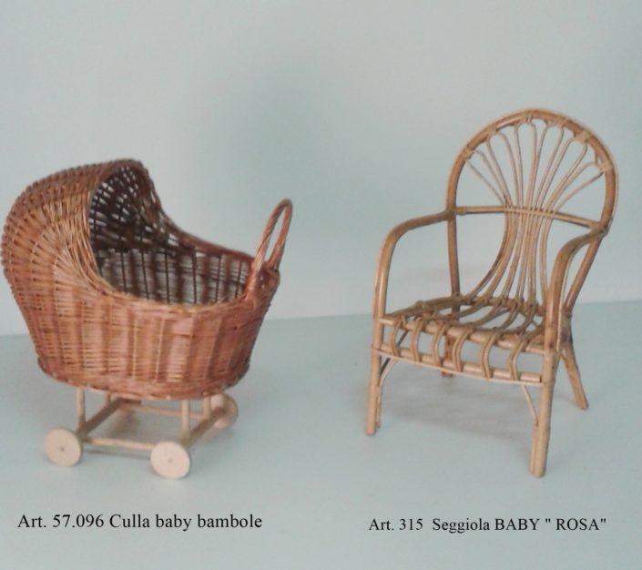Mobili e arredi in vimini fumagalli vimini for Baby arredi